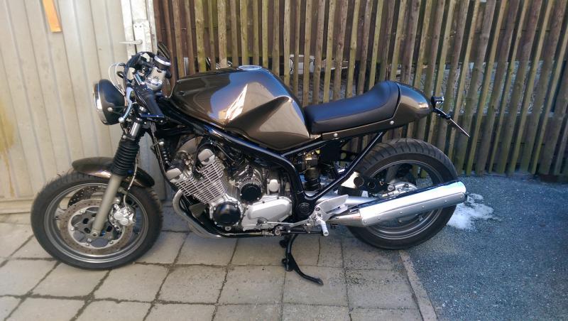Yamaha Seca Bobber