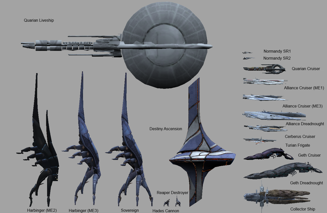 Mass Effect Ship Scale Technical Sufficient Velocity