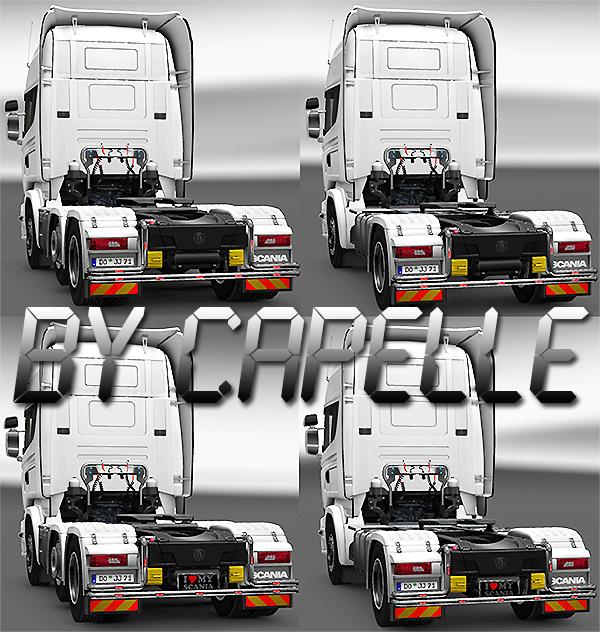 Rearbullbar für den Scania Mdhonyutriw9