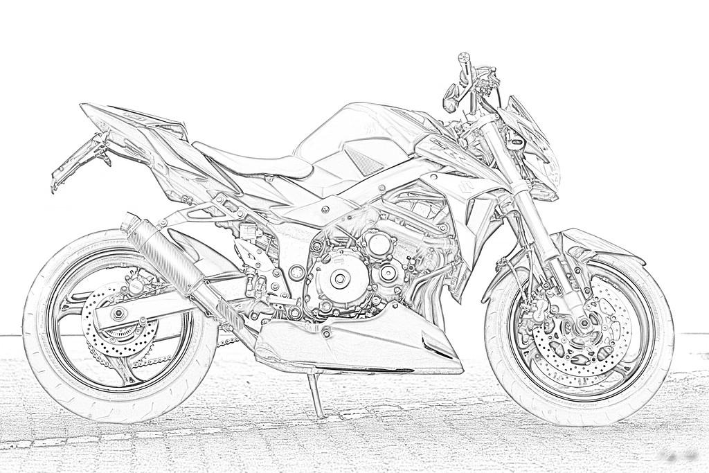 Ausmalbilder Motorrad Suzuki Motorrad Bild Idee