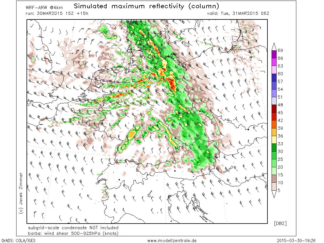 Wetterprognose Hessen